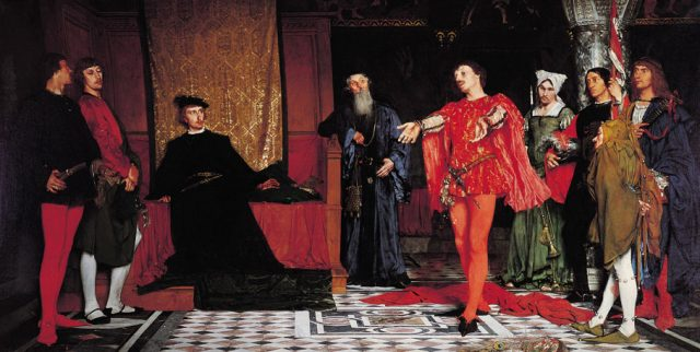 Czachórski_Actors_before_Hamlet